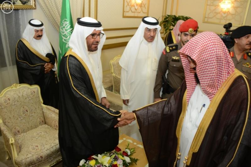 أمير منطقة حائل يستقبل عدداً من المسؤولين وجمعاً من المواطنين 1