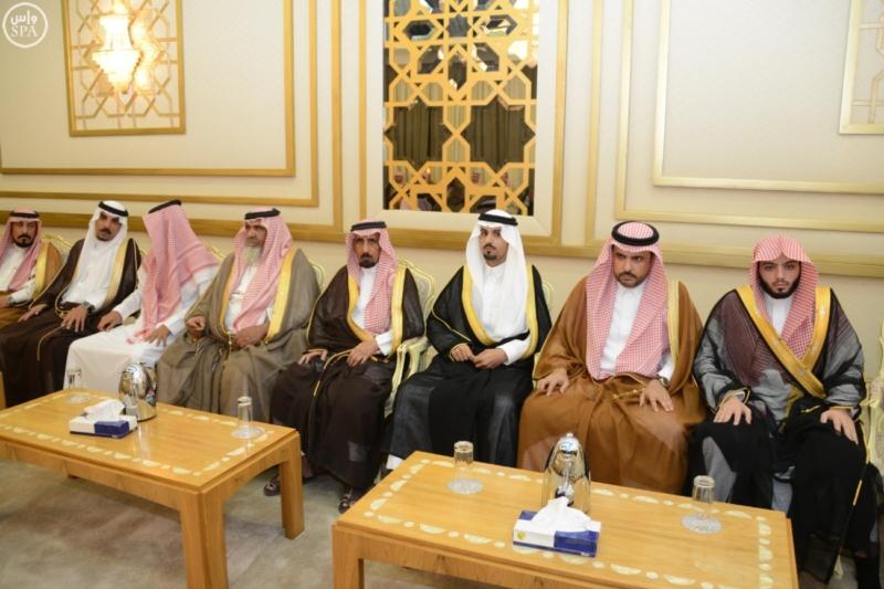 أمير منطقة حائل يستقبل عدداً من المسؤولين وجمعاً من المواطنين 3