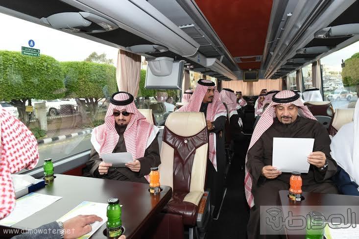 أمير منطقة عسير يتفقد عدد من المشروعات التنموية في مدينة أبها وخميس مشيط بلغت تكلفتها اكثر من مليار ريال 11