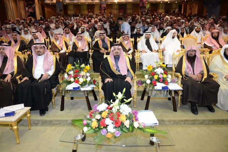 أمير منطقة عسير يرعى حفل افتتاح ( ملتقى حفظ النعمة مسؤوليتنا جميعاً )3