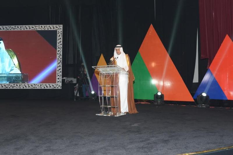 أمير منطقة عسير يرعى حفل تكريم ليالي المحافظات 11