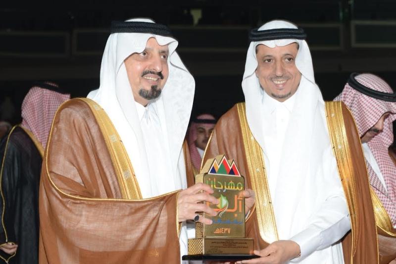 أمير منطقة عسير يرعى حفل تكريم ليالي المحافظات 18