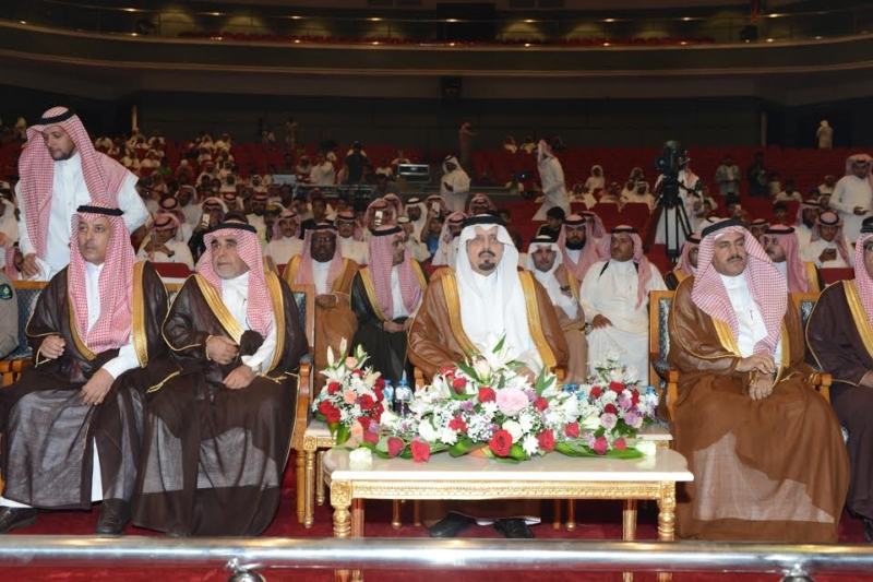 أمير منطقة عسير يرعى حفل تكريم ليالي المحافظات 7