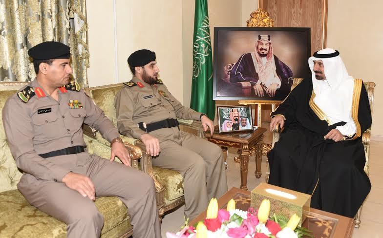 أمير نجران كلنا فخر  بإنجازات رجال الأمن