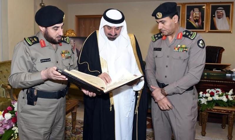 أمير نجران كلنا فخر  بإنجازات رجال الأمن1