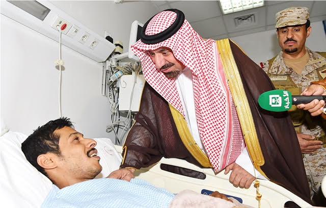 أمير نجران للجنود المصابين (3)