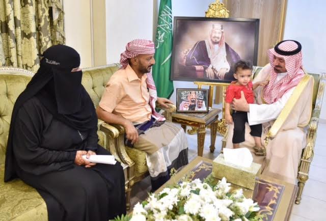 أمير نجران مصير العرب واحد  (1)