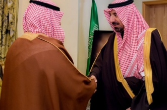 أمير نجران يستقبل ذوي قتيل عفوا عن قاتل ابنهم - المواطن