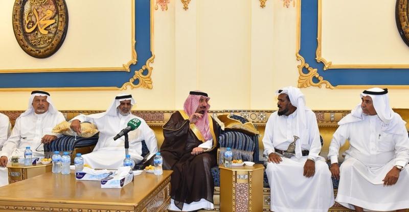 أمير نجران ينقل تعازي القيادة لذوي الشهداء10
