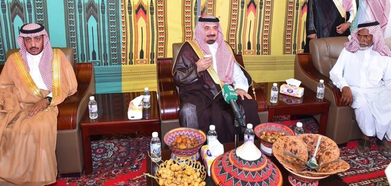 أمير نجران ينقل تعازي القيادة لذوي الشهداء3