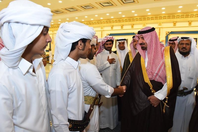 أمير نجران ينقل تعازي القيادة لذوي الشهداء6