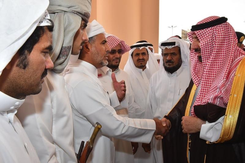 أمير نجران ينقل تعازي القيادة لذوي الشهداء8