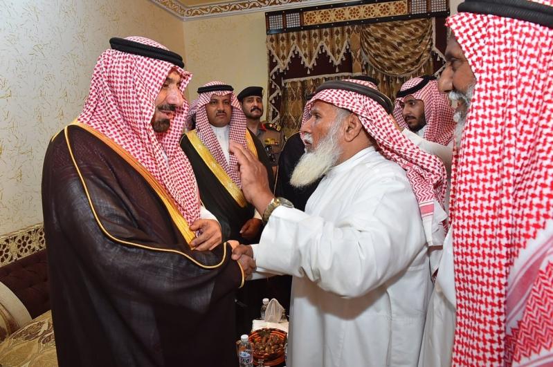 أمير نجران ينقل تعازي القيادة لذوي الشهداء9
