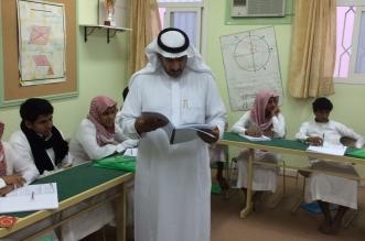 أمين جمعية مراكز أحياء #ميسان بـ #الطائف يتابع برنامج اختبار قدرات الطلاب - المواطن