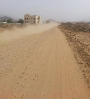 أهالي الظهرة  نطالب بالتحقيق في تأخر سفلتة القرية منذ 6 أشهر (6)