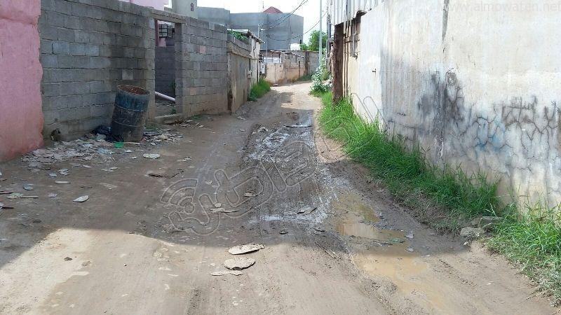 أهالي قامرة #أبو_عريش يستغيثون الرمال والمستنقعات تغرق شوارعنا (2)