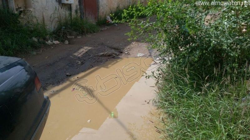 أهالي قامرة #أبو_عريش يستغيثون الرمال والمستنقعات تغرق شوارعنا (5)