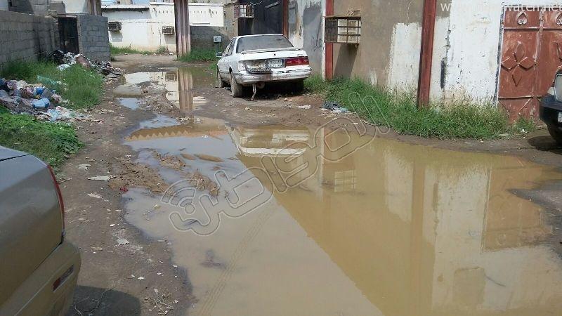 أهالي قامرة #أبو_عريش يستغيثون الرمال والمستنقعات تغرق شوارعنا (7)