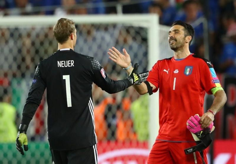 . أهداف منتخب ألمانيا وإيطاليا في يورو