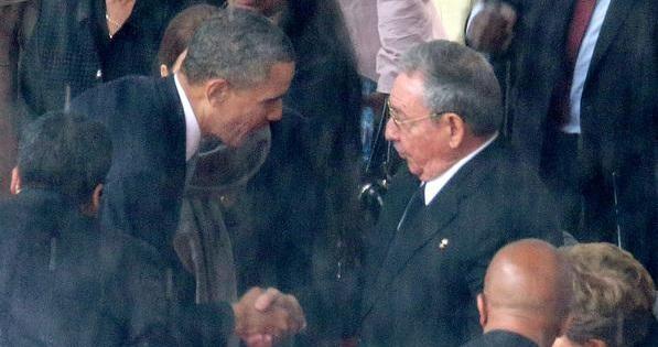 أوباما-وكاسترو