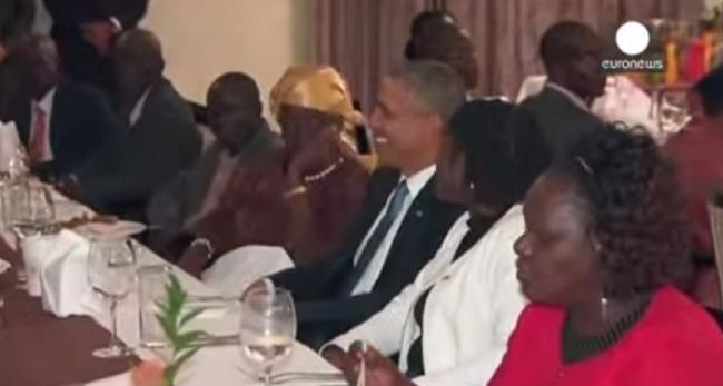 #تيوب_المواطن : اوباما يتناول العشاء مع عائلته الكينية - المواطن