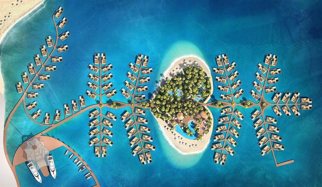 أول جزيرة مخصصة لشهر العسل في دبي (1)