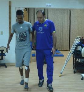 إبراهيم غالب يزور تدريبات النصر5