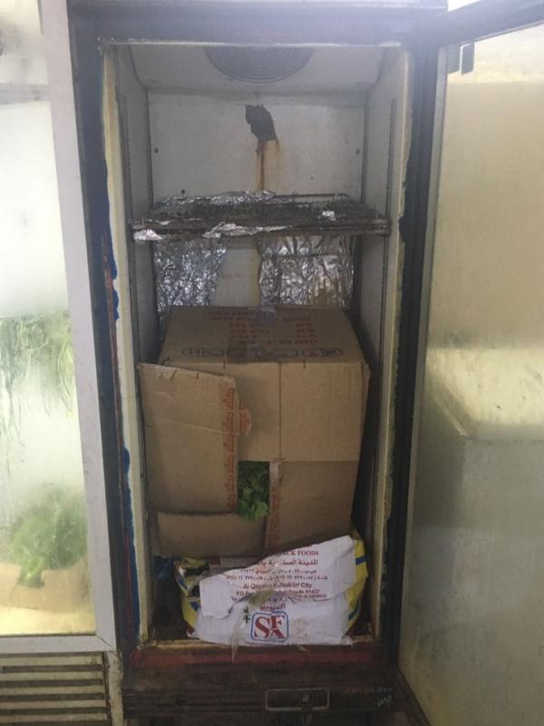 إتلاف 900 كيلوا في مداهمة معمل سمبوسة بصبيا (1)