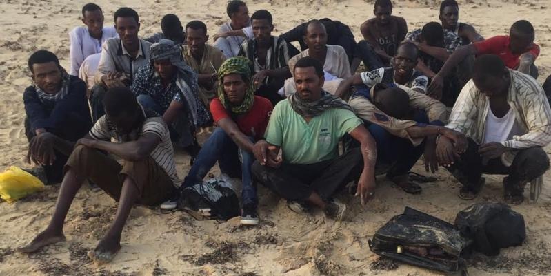 إحباط تسلل 123 شخصًا قدموا من الشواطئ السودانية (1)