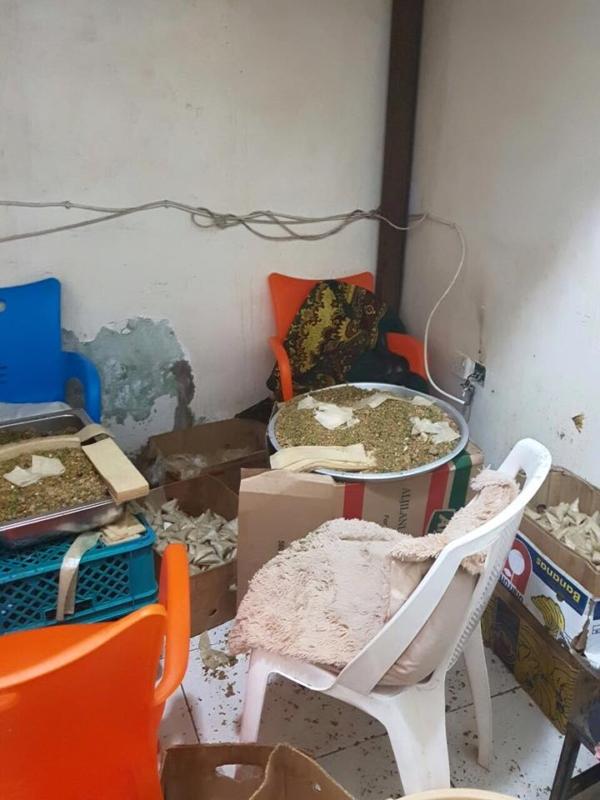 إحباط توزيع كميات كبيرة من الكنافة (1) 