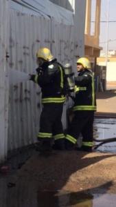 إحباط حريق محطة وقود في حائل (30388105) 