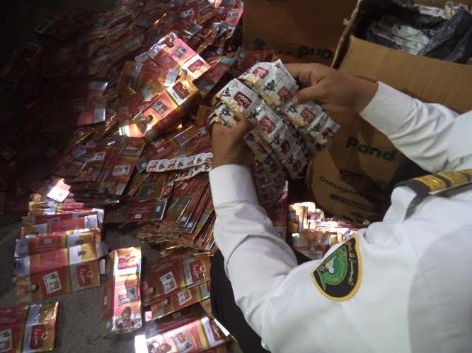إحباط 5 محاولات لتهريب 11.5 مليون سيجارة  1
