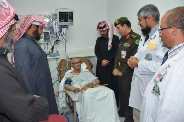 إخضاع ثلاثة مسنين لعمليات القلب دقيقه بمستشفى القوات المسلحة بالجنوب (2)