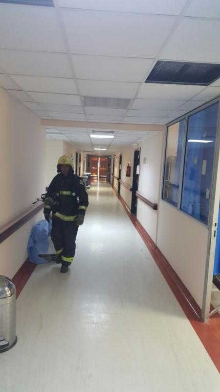 إخلاء مرضى مستشفى صامطة بعد انبعاث دخان (1)