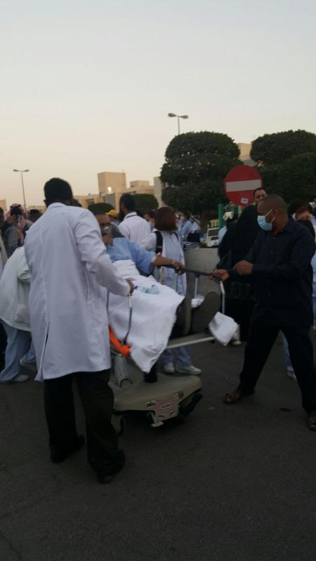 إخلاء 35 مريضاً من مستشفى الحمادي فور اندلاع حريق 2