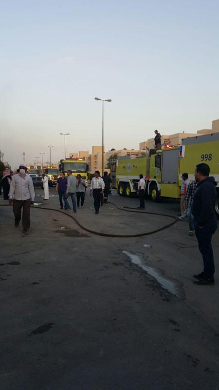 إخلاء 35 مريضاً من مستشفى الحمادي فور اندلاع حريق