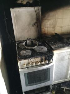 إخماد حريق بسكن مستشفى الملك خالد بحائل