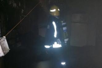 بالصور.. إخماد حريق بمنزل شعبي بالقطيف بسبب التماس كهربائي - المواطن