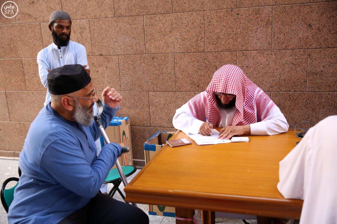 إدارة الأبواب بالمسجد النبوي (2)