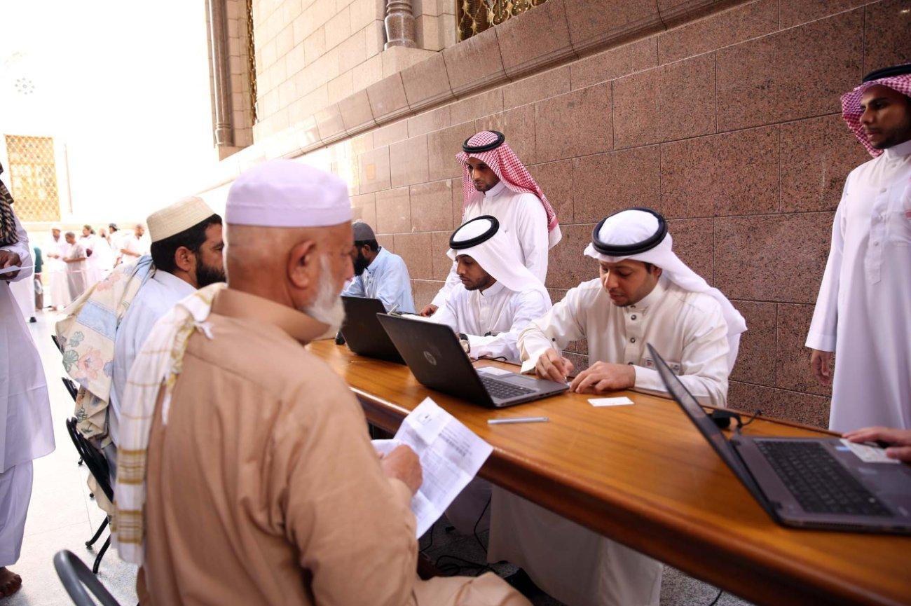 إدارة الأبواب بالمسجد النبوي (3)