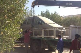 بلدية القفل تُزيل التلوث البصري من الشوارع - المواطن