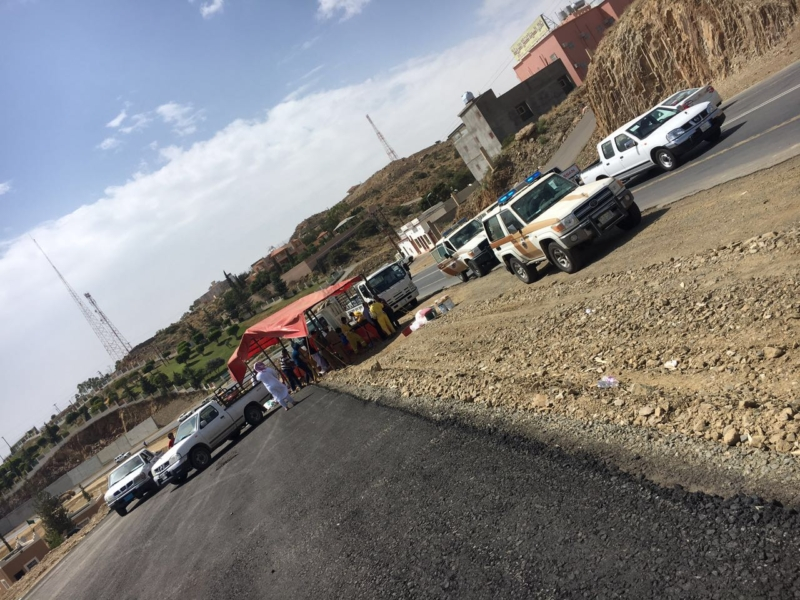 إزالة البسطات العشوائيّة بالطريق السياحيّ في سودة عسير (351539189) 