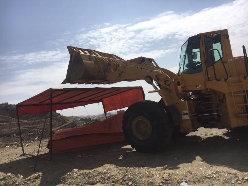 إزالة البسطات العشوائيّة بالطريق السياحيّ في سودة عسير (351539194) 
