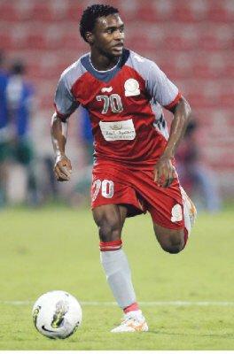 إسماعيل محمد لاعب نادي لخويا