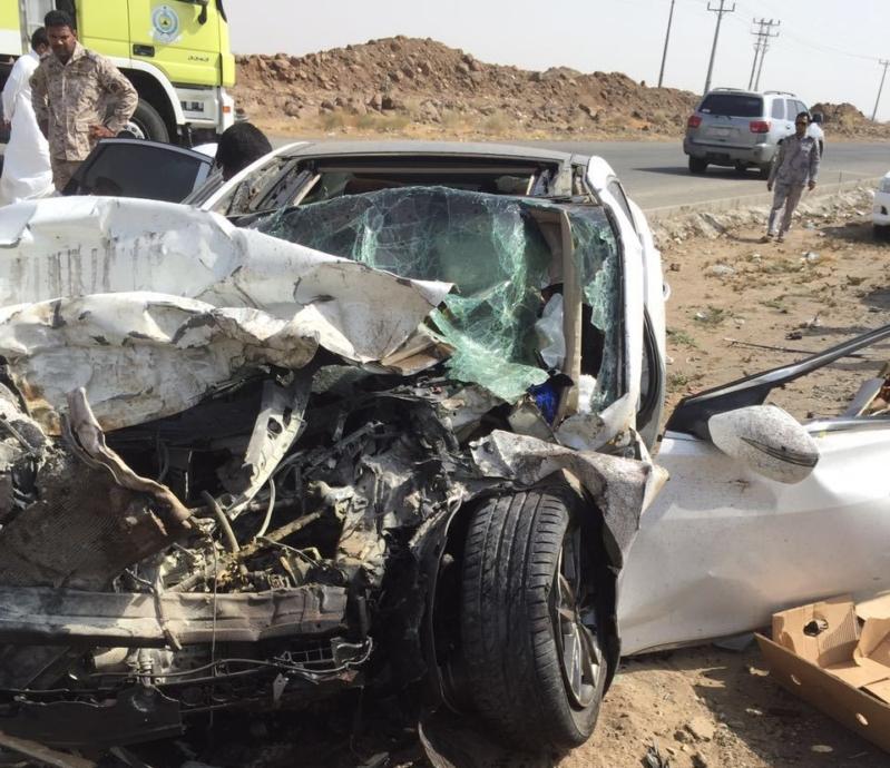 إصابات في حادث تصادم مروع في أبو عريش (1)
