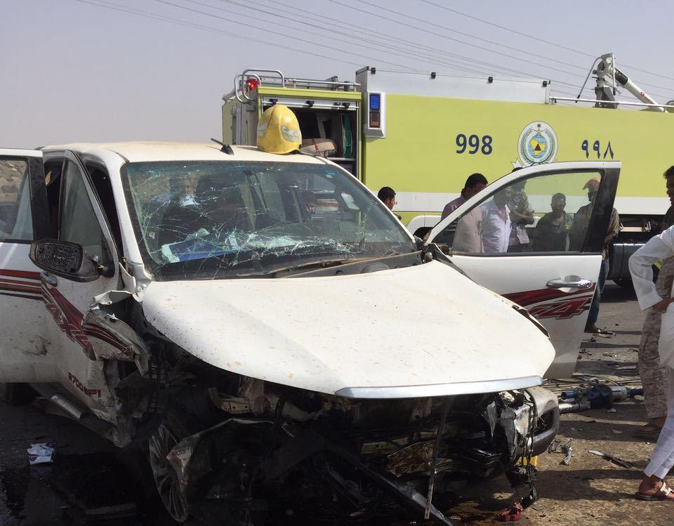 إصابات في حادث تصادم مروع في أبو عريش (2)