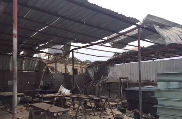 إصابة مقيمين في سقوط قذائف يمنية بـنجران