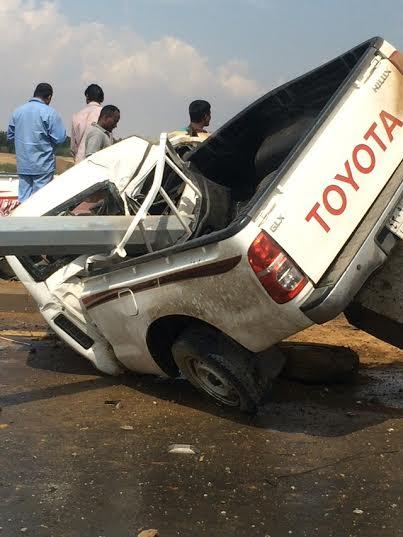 إصابة مواطن إثر ارتطام مركبته بعمود إنارة بجازان