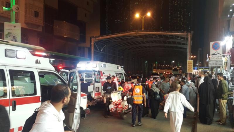 إصابة 3 أشخاص في حادث دهس بأجياد مكة (1)