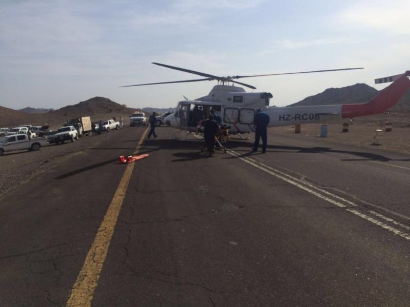 إصابة 5 أشخاص في حادث (5)